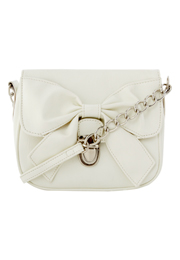 White Bow Bag
